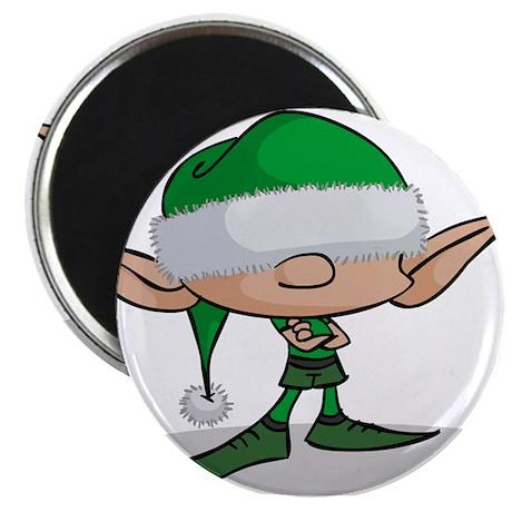 "ElfGreen.png 2.25"" Magnet (100 pack)"