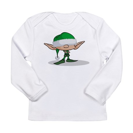 ElfGreen.png Long Sleeve Infant T-Shirt