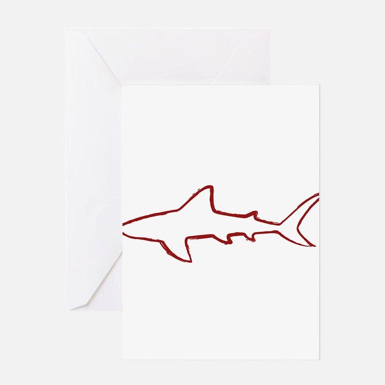 shark.png Greeting Card