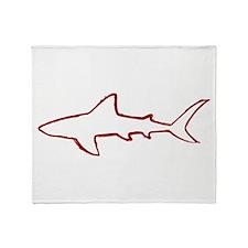 shark.png Throw Blanket