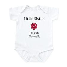 DnD Little Sister Infant Bodysuit