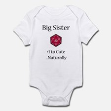 DnD Big Sister Infant Bodysuit