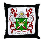 Trojstrzal Coat of Arms Throw Pillow