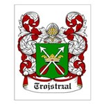 Trojstrzal Coat of Arms Small Poster