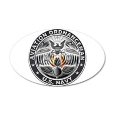 USN Aviation Ordnanceman Eagle Rate Wall Decal