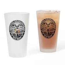 USN Aviation Ordnanceman Eagle Rate Drinking Glass