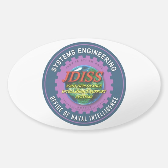 JDISS Systems Engineering Sticker (Oval)