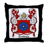 Trebnic Coat of Arms Throw Pillow