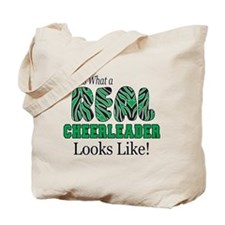 Real Cheerlaeder Green Tote Bag