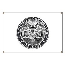USN Air-Traffic Controller Eagle Rate Banner