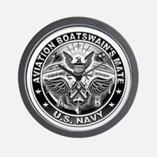 USN Aviation Boatswains Mate Eagle Rate Wall Clock