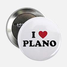 "I Love Plano Texas 2.25"" Button"