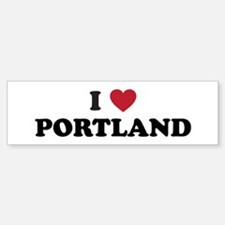 I Love Portland Sticker (Bumper)