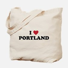 I Love Portland Tote Bag