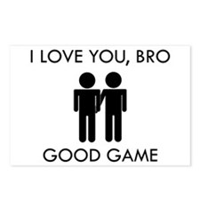 Bromance Good Game Postcards (Package of 8)