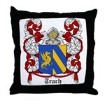 Trach Coat of Arms Throw Pillow