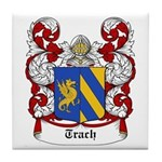 Trach Coat of Arms Tile Coaster