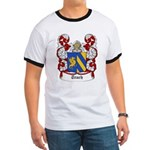 Trach Coat of Arms Ringer T