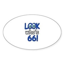 Look who's 66 Decal