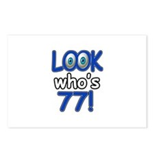 Look who's 77 Postcards (Package of 8)