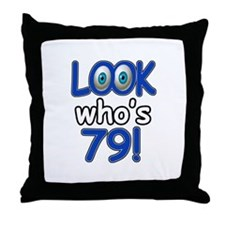 Look who's 79 Throw Pillow