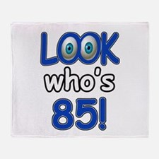 Look who's 85 Throw Blanket
