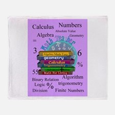 Math teacher cases.PNG Throw Blanket