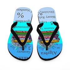 Math Teacher 7.PNG Flip Flops