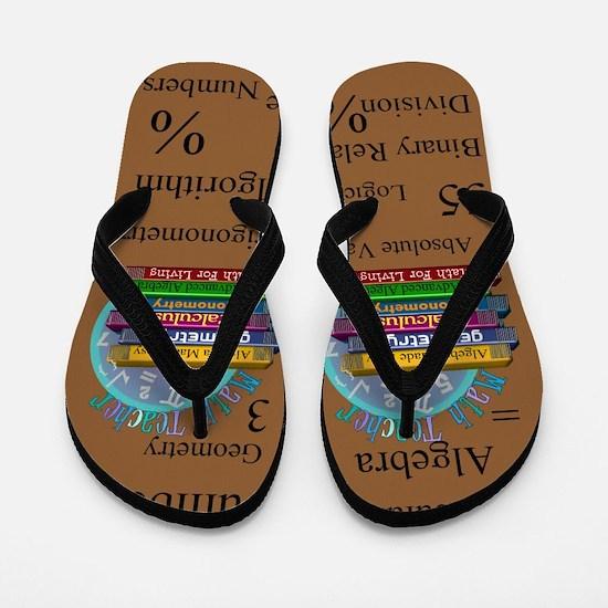 Math Teacher 4.PNG Flip Flops