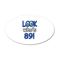 Look who's 89 Wall Decal