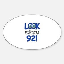 Look who's 92 Decal