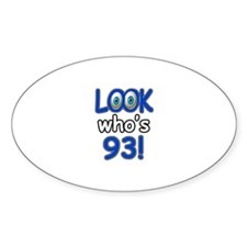 Look who's 93 Decal