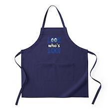 Look who's 100 Apron (dark)