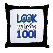 Look who's 100 Throw Pillow
