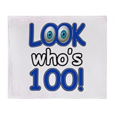Look who's 100 Throw Blanket