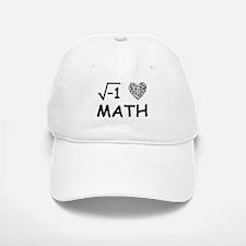 I Love Math Baseball Baseball Cap