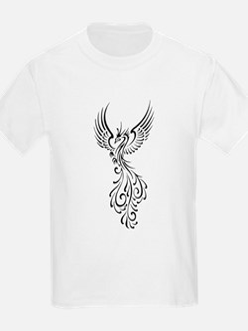 black-phoenix-bird.png T-Shirt