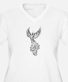 black-phoenix-bird.png T-Shirt