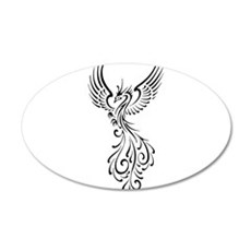 black-phoenix-bird.png Wall Decal