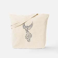 black-phoenix-bird.png Tote Bag