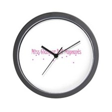 Cool Pageant Wall Clock