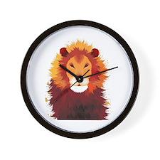 beautiful-lion-tattoo.png Wall Clock