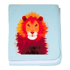 beautiful-lion-tattoo.png baby blanket