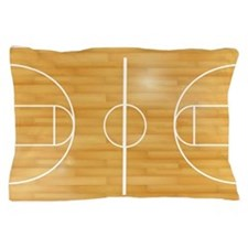 Basketball Court Pillow Case