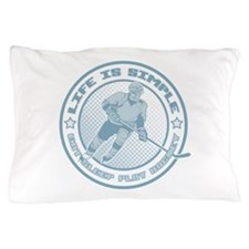 Eat, Sleep, Play Hockey Pillow Case