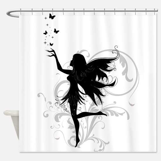 fairy.png Shower Curtain