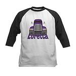 Trucker Loretta Kids Baseball Jersey