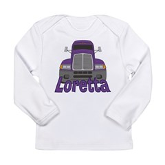 Trucker Loretta Long Sleeve Infant T-Shirt