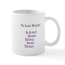 lose weight Mug