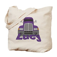 Trucker Lucy Tote Bag